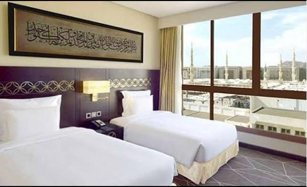 Karantina di Hotel Arab Saudi